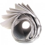Update Publication - rolled newspaper image